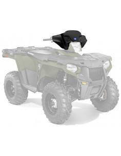 K-WINDSHIELD ATV LOW BLACK