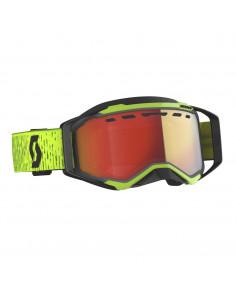 SCO Goggle Prospect Snow Cross black/yellow lg se rd chr