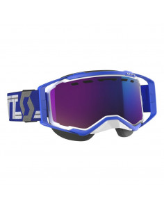 SCO Goggle Prospect Snow Cross white/blue enh teal chr