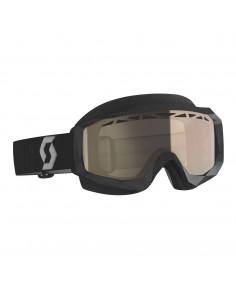 SCO Goggle Hustle Snow Cross black/grey lt.s.brz.chr