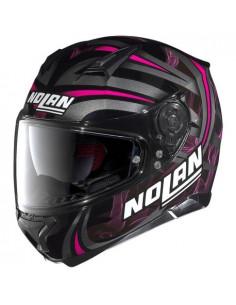 Nolan N87 Ledlight N-Com-Blk/Pink