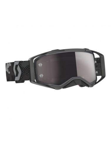 SCOTT Prospect Goggle   dark grey/black / silver chrome works