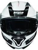 Nolan N87 Plus Distinctive N-Com 22/Metal Whi